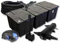SunSun FilterSet 90000l 24W Klärer, 100W Pumpe Schlauch Springbrunnen