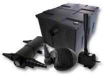Set Filter 60000l 24W UVC Klärer 155W Pumpe Springbrunnen