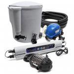 EazyPod Air Teichfilter komplett Set bis 20m³ inkl. UV-C 30W Luftpumpe