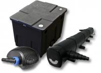 Filter Set für 12000l Teich mit 72W Teichklärer, CTF ECO Pumpe mit 20W