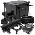 FilterSet 12000l 24W Teichklärer NEO8000 Schlauch SK30 Springbrunnen