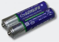 Alkaline Batterien, zylindrisch 2er Set AAA 1.5V R03P UM-4 / B07 / Pb