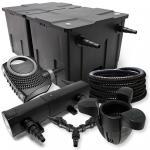 SunSun FilterSet 60000l Teich 24W Klärer NEO8000 70W Schlauch Skimmer