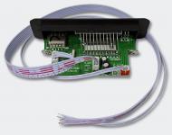 Mp3-Player für Scooter Soundboards Helmfachanlagen USB 2.0