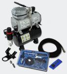 Einsteiger Airbrush Kompressor Set mit 1 Airbrushpistole AS189