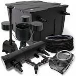 SunSun Filter 60000l 18W UVC NEO8000 70W Schlauch Skimmer Springbrunne