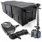 3-Kammer FilterSet 90000l 24W UVC Klärer NEO7000 Pumpe Springbrunnen