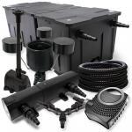SunSun Filter 90000l 18W UVC NEO8000 70W Schlauch Skimmer Springbrunne