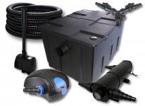 SunSun FilterSet 60000l 18W Klärer, 100W Pumpe Schlauch Springbrunnen
