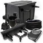 FilterSet 12000l 18W Teichklärer NEO8000 Schlauch SK40 Springbrunnen