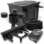 Filter Set 12000l Teich 24W Teichklärer NEO8000 70W 25m Schlauch CSP25