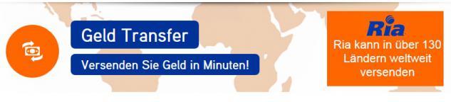 Ria Partner Agentur München Ost - GELD weltweit VERSENDEN