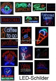 Coffee to go LED Leucht reklame Display Werbung 2