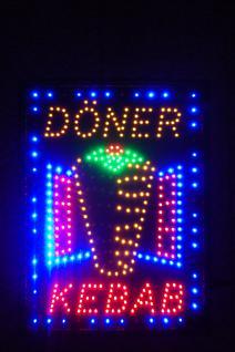 Döner- Kebab LED Leucht reklame Anzeige tafel - Vorschau 2