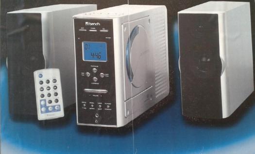 Musik anlage mit Radio CD und MP3 Player; mit Fernbedienung - Vorschau 1