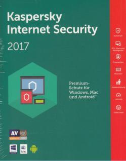 Schutz Software Internet Security 2017 DVD- Box