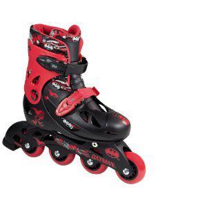 BATMAN Inline Skate SET Kinder Roll schuhe 25-28