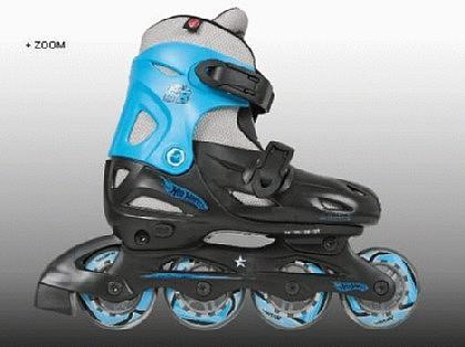 Inline Skate Kinder Rollschuhe HOT WHEEL 27-30 - Vorschau 1