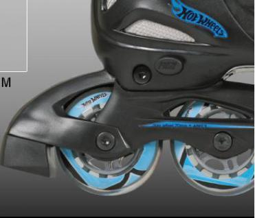 Inline Skate Kinder Rollschuhe HOT WHEEL 27-30 - Vorschau 4