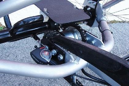 Senioren DREI RAD Tief einsteiger Fahrrad klapp bar Therapie Rad - Vorschau 4