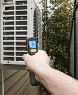 Profi Infrarot- Thermometer mit Laser justierung - Vorschau 4
