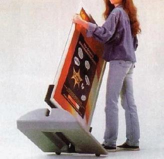 Kundenstopper Plakat ständer Werbung WindPro A0 - Vorschau 3