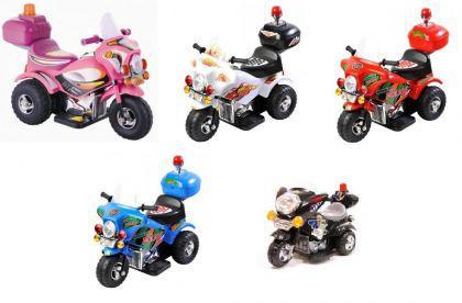 Elektro Motor- Dreirad für Kinder mit Hupe und Akku - Vorschau 2