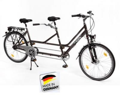Tandem ALU Fahrrad 7-Gang Rad 26 Zoll Modell: 2014