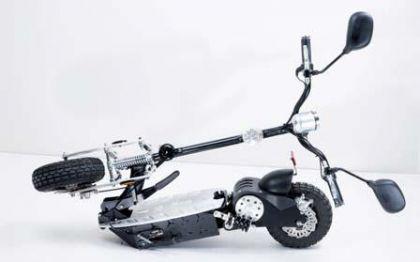 elektro mofa mit zulassung klapp roller escooter. Black Bedroom Furniture Sets. Home Design Ideas