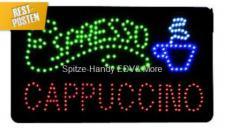 Espresso LED Leucht reklame Display Werbung tafel