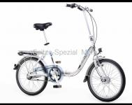 ALU- Falt- Fahrrad Klapp rad mit 3- Gang Schaltung