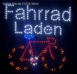Fahrrad- Laden LED Leucht reklame Display Werbung