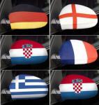Auto- SPIEGEL- Flagge alle LÄNDER FAHNEN Country Flag