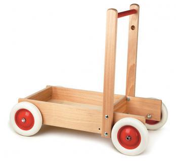 Holzwagen-Schiebewagen aus Buche