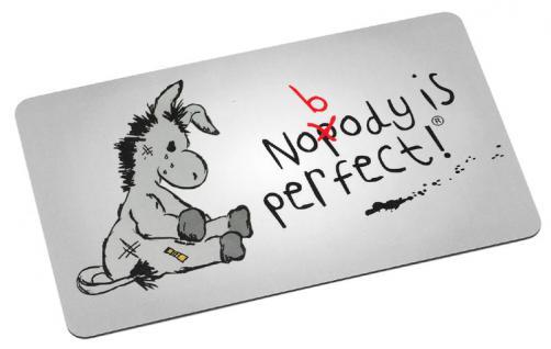 Frühstücksbrettchen Murphy, Nobody ist perfect