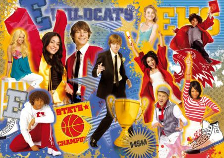 Clementoni Puzzle 104 Teile - High School Musical 3 Time Together