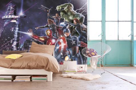 Fototapete Avengers Citynight