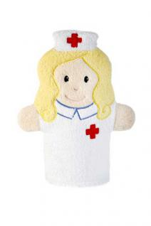 Waschhandschuh Krankenschwester