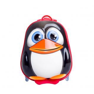 Bouncie Trolley Pinguin mit blinkenden Rädern