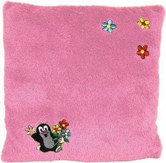 Kissen Maulwurf rosa