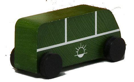 bus aus holz f r parkhaus kaufen bei spielgeschenke. Black Bedroom Furniture Sets. Home Design Ideas