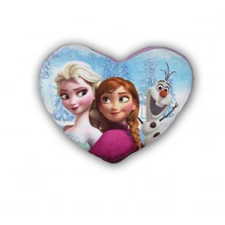 Frozen großes Kissen in Herzform