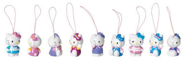 Chiqui Hello Kitty Figur, Welle 1