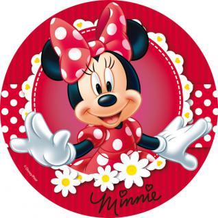 Zucker-Tortenaufleger Minnie Mouse