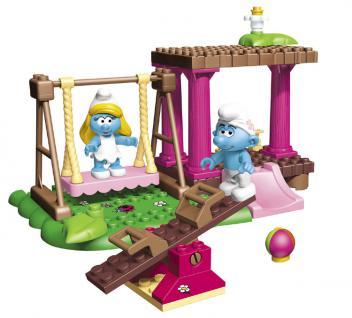Mega Bloks Schlümpfe Spielplatz