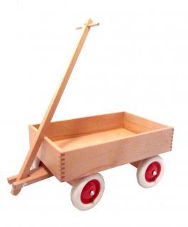 Holzwagen zum Ziehen, Kastenwagen Emil