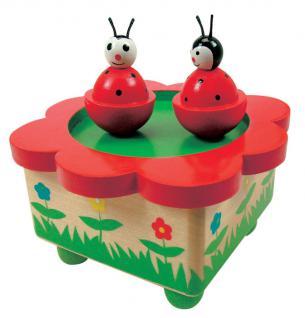 Spieluhr Magic-Käfertanz aus Holz