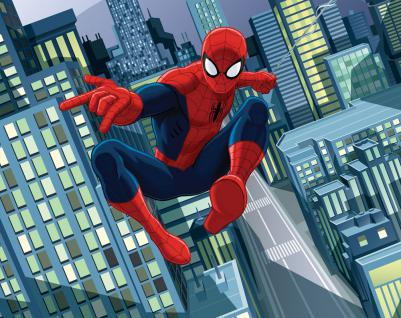 Walltastic Fototapete Spiderman