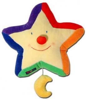 Spieluhr bunter Stern