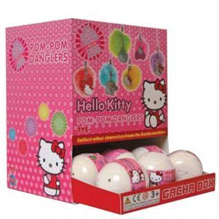 Überraschungskugel Hello Kitty Figuren Anhänger